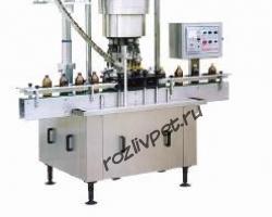 UA-6000 (автомат укупорки  стеклянных бутылок алюминиевым колпачком)