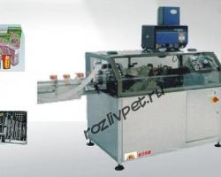 Автомат для наклейки питьевых трубочек на коробки тетра брик (tetra brick)