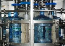 Оборудование для розлива воды в 19л бутыли